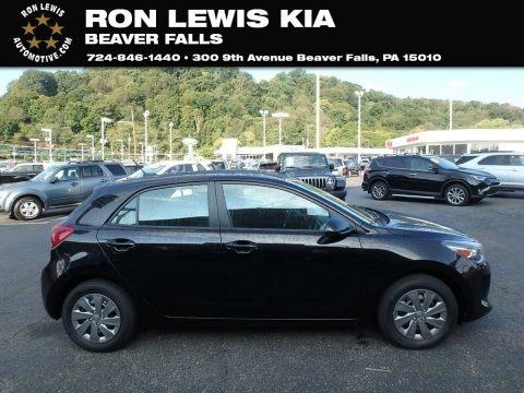 Black 2020 Kia Rio LX