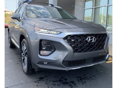 Machine Gray 2020 Hyundai Santa Fe SEL 2.0 AWD