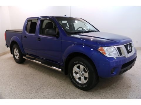 Metallic Blue 2012 Nissan Frontier SV Crew Cab 4x4
