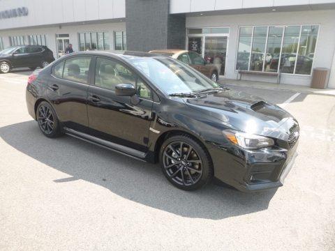 Crystal Black Silica 2019 Subaru WRX Limited