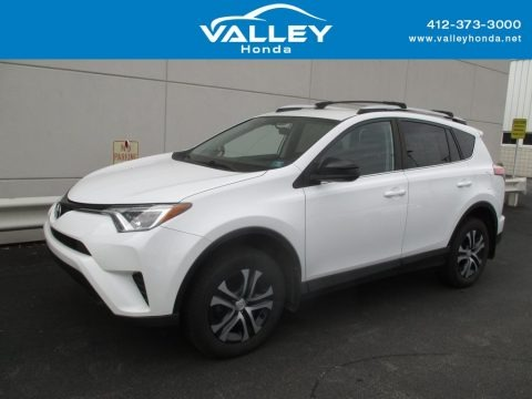 Super White 2016 Toyota RAV4 LE AWD