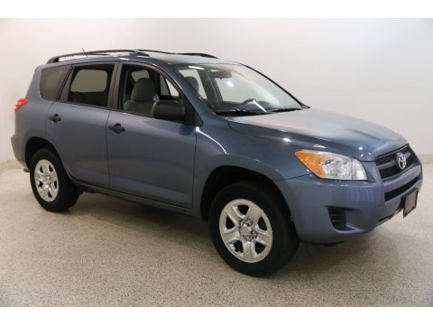 Pacific Blue Metallic 2011 Toyota RAV4 I4 4WD