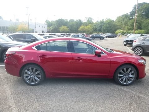 Soul Red Crystal Metallic 2019 Mazda Mazda6 Touring