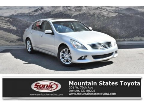 Liquid Platinum 2012 Infiniti G 37 Journey Sedan