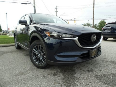 Deep Crystal Blue Mica 2019 Mazda CX-5 Touring AWD