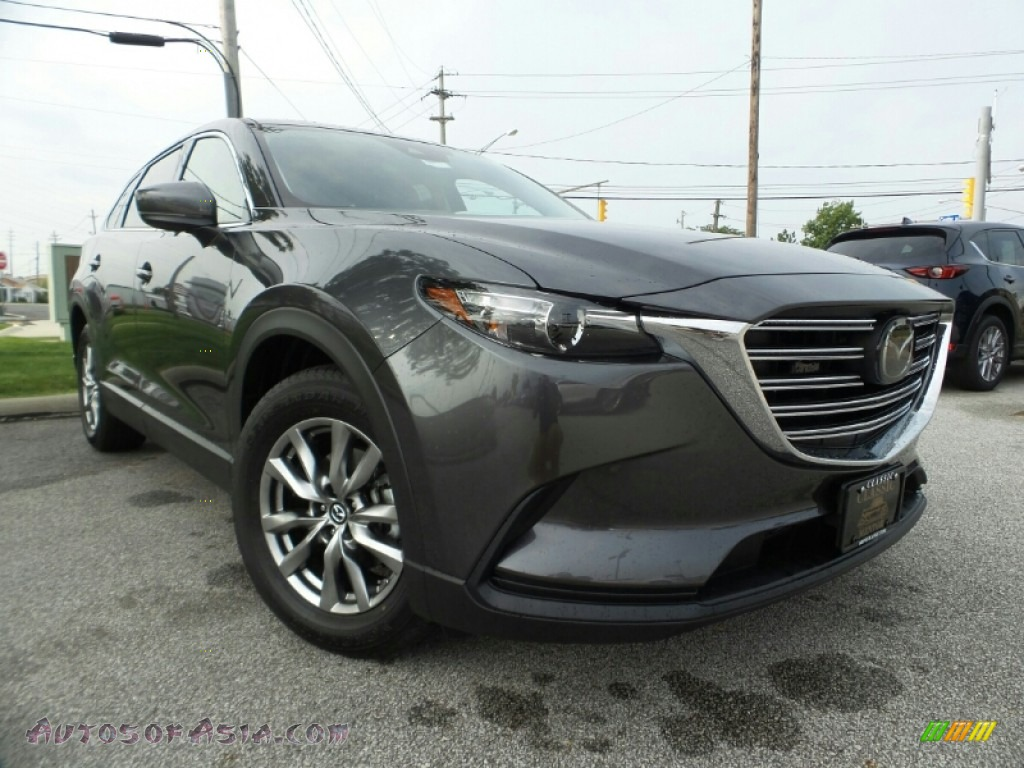 2019 CX-9 Touring AWD - Machine Gray Metallic / Black photo #1