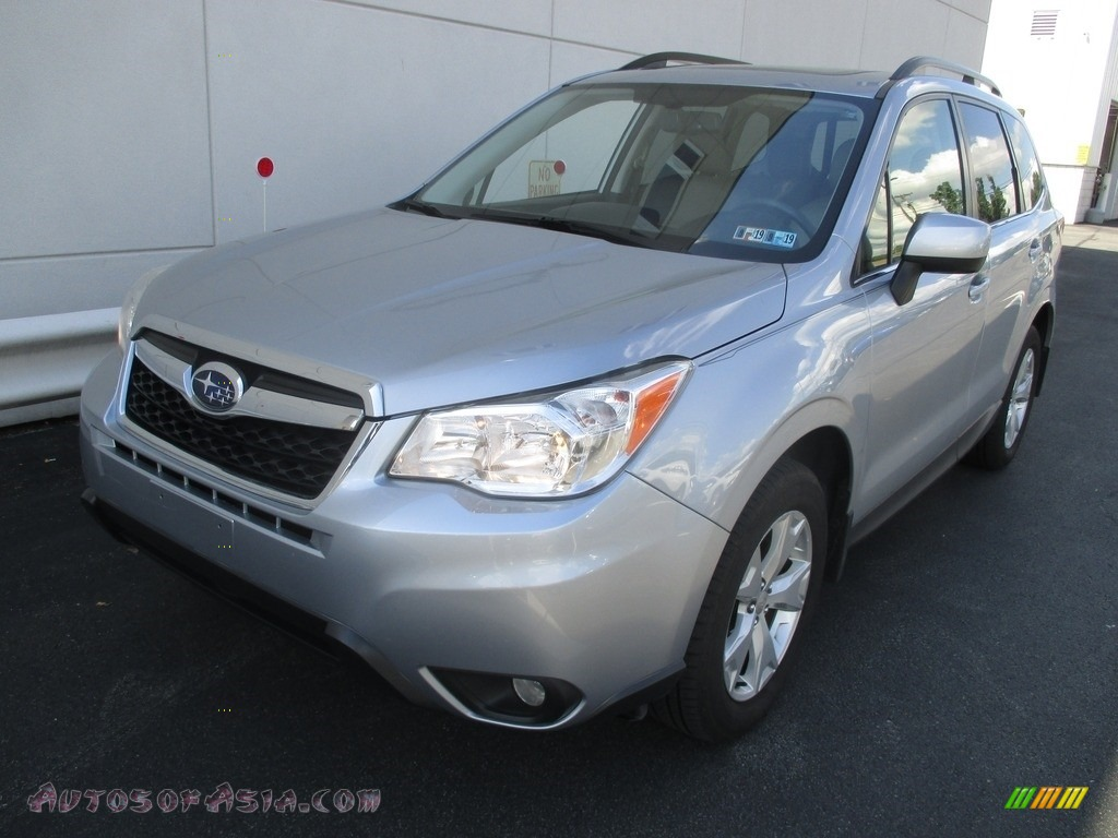 2016 Forester 2.5i Limited - Ice Silver Metallic / Gray photo #8