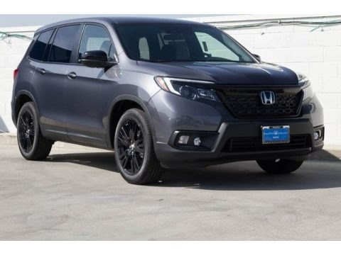 Modern Steel Metallic 2019 Honda Passport Sport AWD