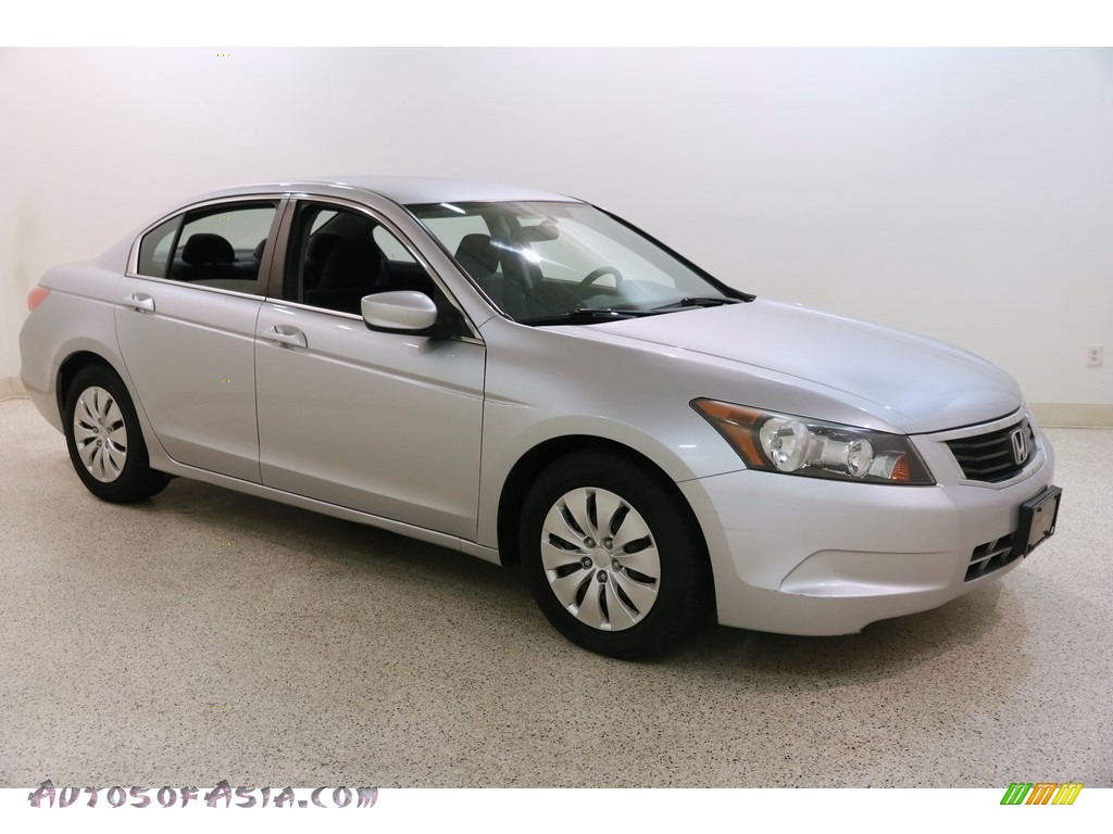 2010 Accord LX Sedan - Alabaster Silver Metallic / Black photo #1