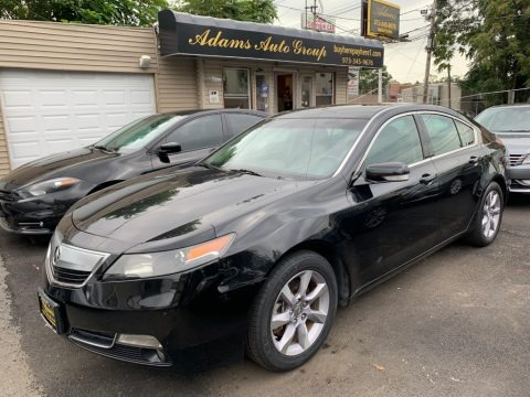 Crystal Black Pearl 2013 Acura TL Technology