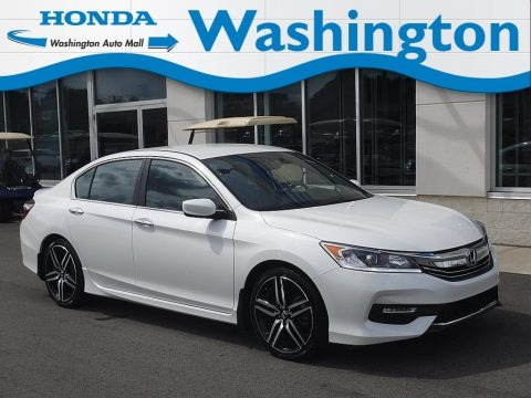 White Orchid Pearl 2017 Honda Accord Sport Special Edition Sedan