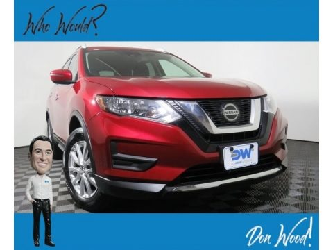 Scarlet Ember 2019 Nissan Rogue SV AWD