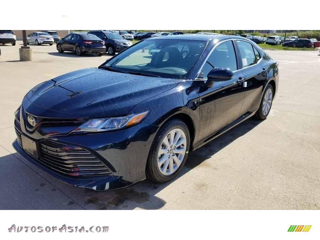 2020 Camry LE - Galactic Aqua Mica / Black photo #1