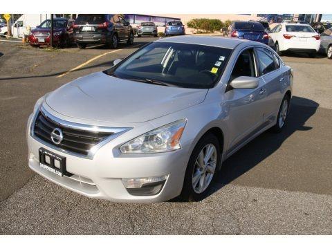 Brilliant Silver 2014 Nissan Altima 2.5 SV