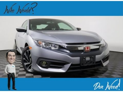 Lunar Silver Metallic 2016 Honda Civic LX Coupe