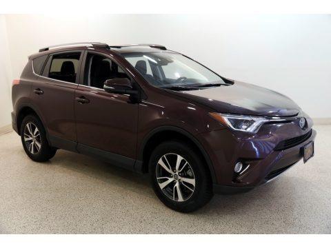 Black 2018 Toyota RAV4 XLE AWD