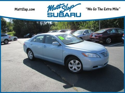Sky Blue Pearl 2008 Toyota Camry LE