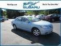 Toyota Camry LE Sky Blue Pearl photo #1