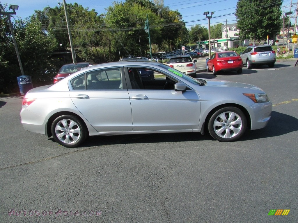 2008 Accord EX-L Sedan - Alabaster Silver Metallic / Gray photo #5