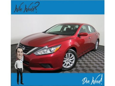 Cayenne Red 2017 Nissan Altima 2.5 S