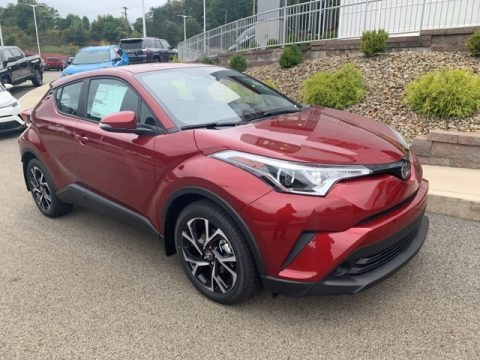 Ruby Flare Pearl 2019 Toyota C-HR XLE