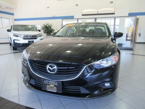 Jet Black Mica 2014 Mazda MAZDA6 Grand Touring