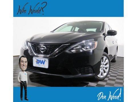 Super Black 2017 Nissan Sentra S