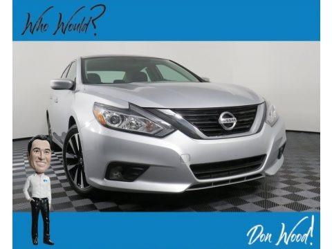 Brilliant Silver 2018 Nissan Altima 2.5 SV