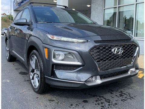Thunder Gray 2020 Hyundai Kona Limited AWD