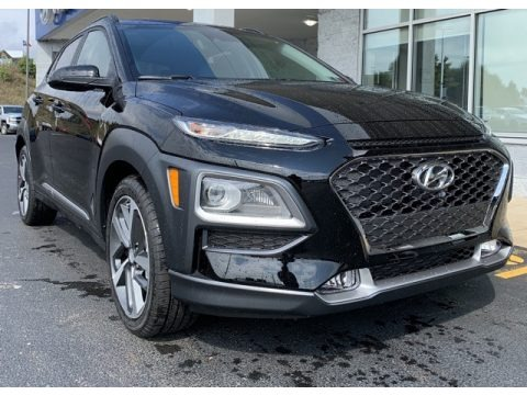 Ultra Black 2020 Hyundai Kona Limited AWD