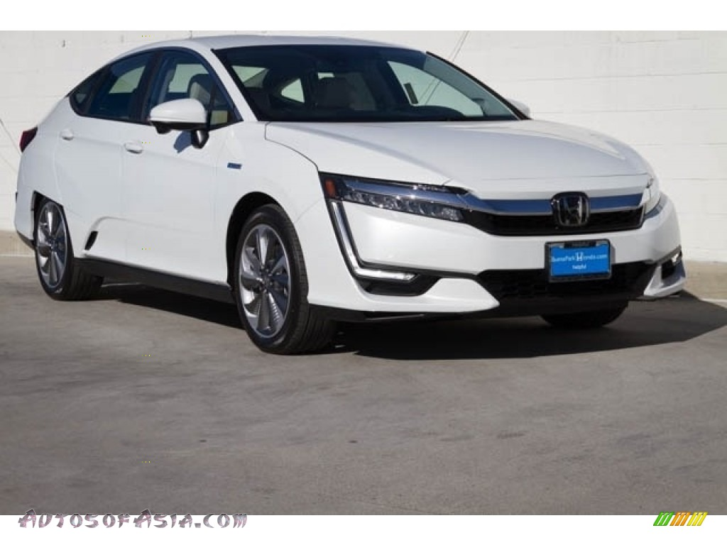 2019 Clarity Touring Plug In Hybrid - Platinum White Pearl / Beige photo #1