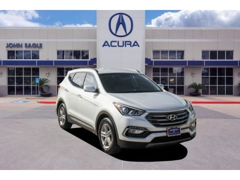 Sparkling Silver 2017 Hyundai Santa Fe Sport FWD