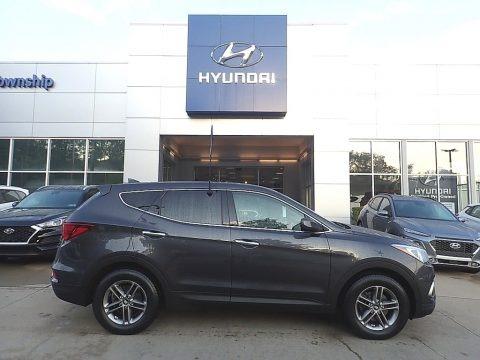 Platinum Graphite 2017 Hyundai Santa Fe Sport AWD