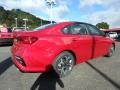 Kia Forte LXS Currant Red photo #2