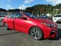 Kia Forte LXS Currant Red photo #9