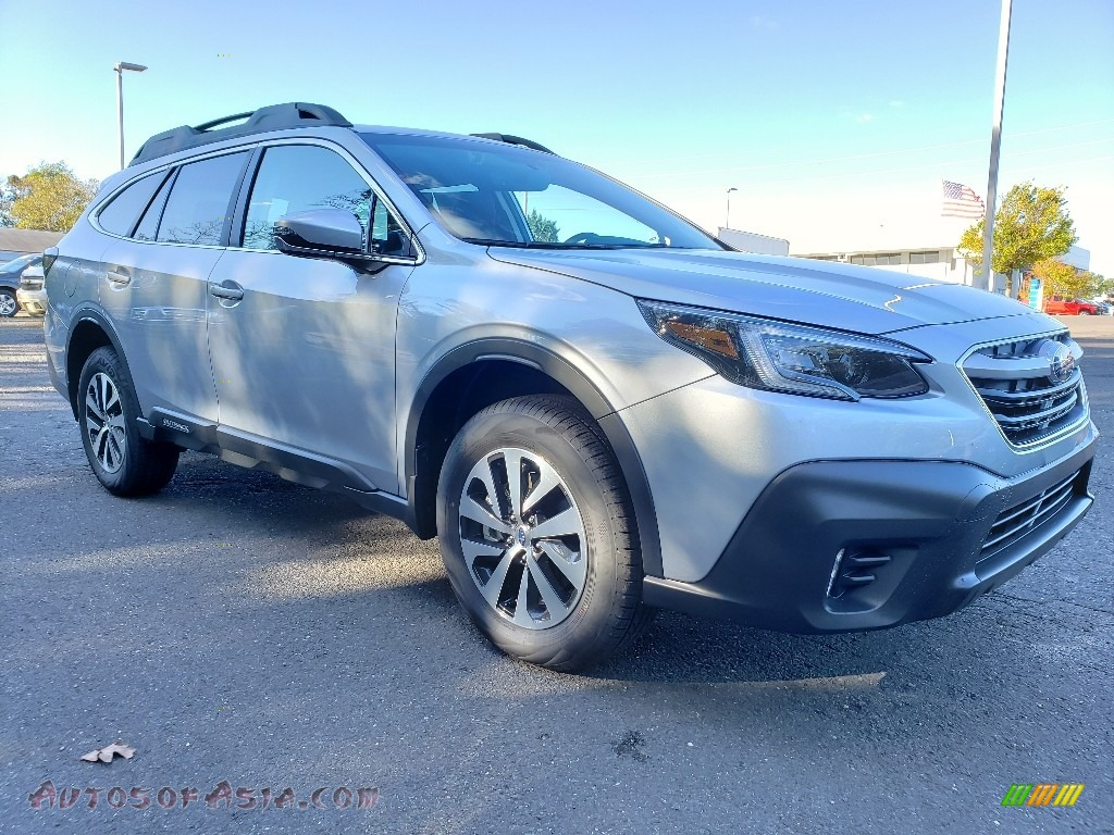2020 Outback 2.5i Premium - Ice Silver Metallic / Slate Black photo #1