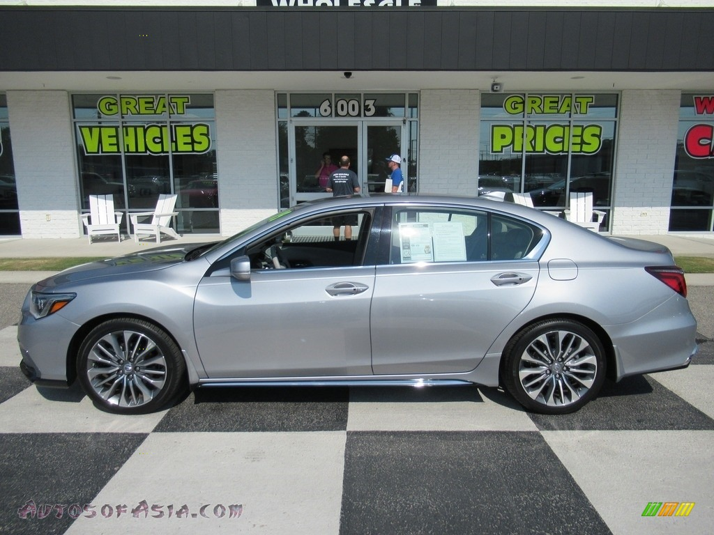 2019 RLX FWD - Lunar Silver Metallic / Graystone photo #1