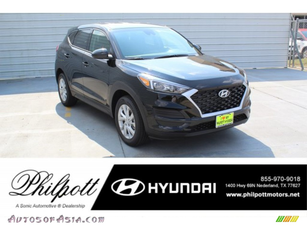 2020 Tucson SE - Black Noir Pearl / Black photo #1