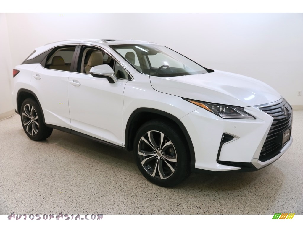 2017 RX 350 AWD - Eminent White Pearl / Parchment photo #1