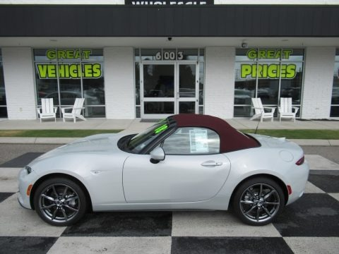 Ceramic Metallic 2018 Mazda MX-5 Miata Grand Touring