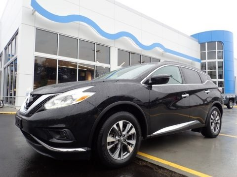 Magnetic Black 2017 Nissan Murano SV AWD