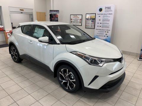 Blizzard White Pearl 2019 Toyota C-HR XLE