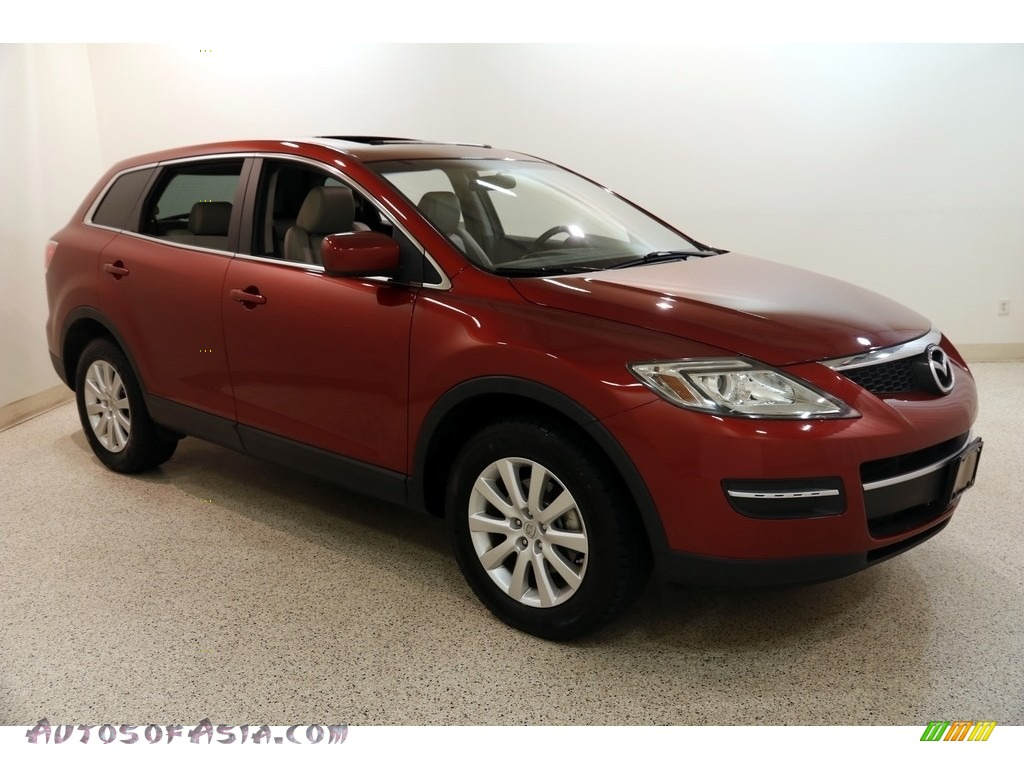 Copper Red Mica / Sand Mazda CX-9 Touring AWD