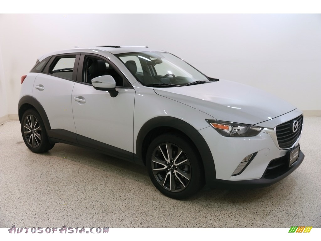 2017 CX-3 Touring AWD - Ceramic Metallic / Black photo #1