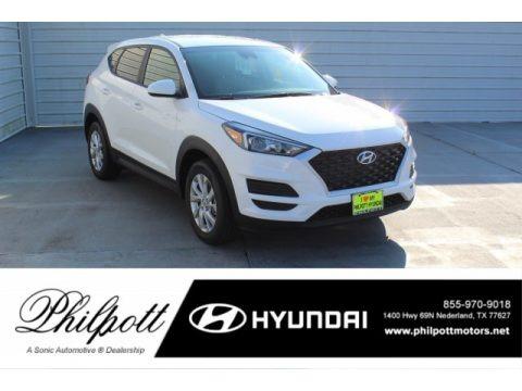 Cream White Pearl 2020 Hyundai Tucson SE