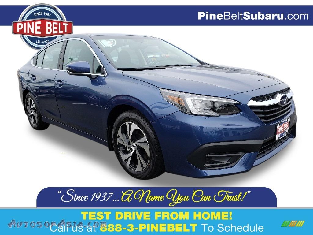 Abyss Blue Pearl / Slate Black Subaru Legacy 2.5i Premium