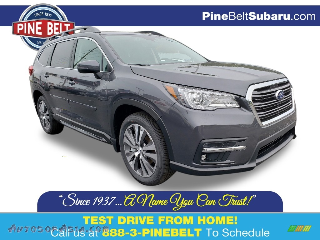 Magnetite Gray Metallic / Slate Subaru Ascent Limited