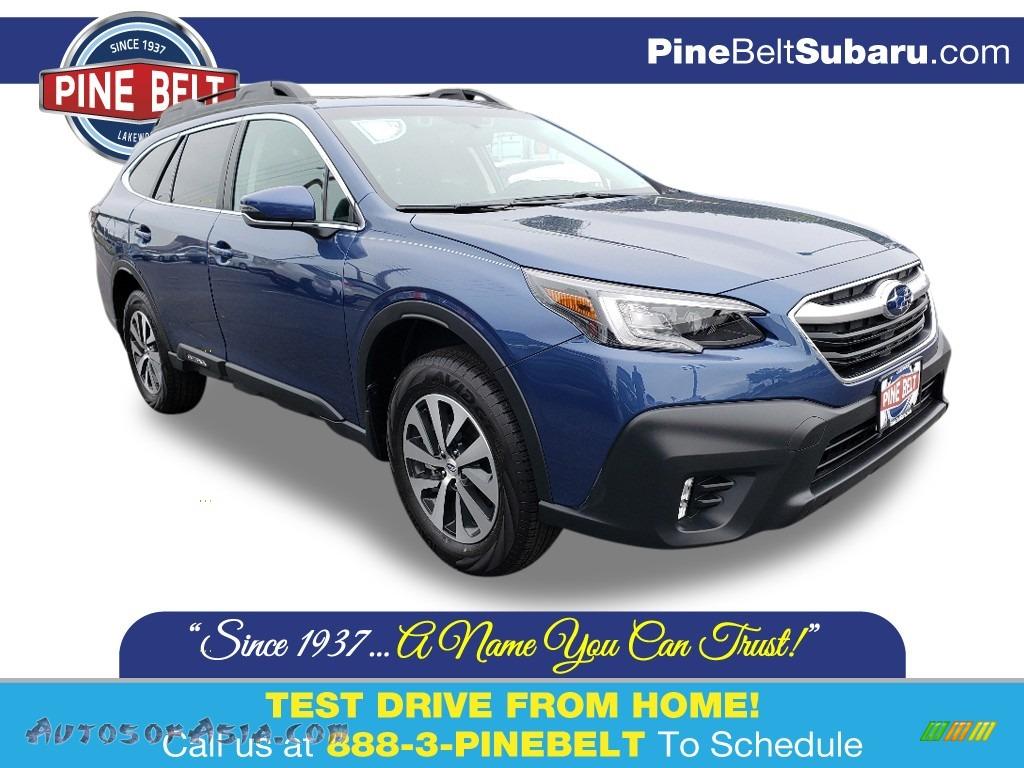 Abyss Blue Pearl / Slate Black Subaru Outback 2.5i Premium