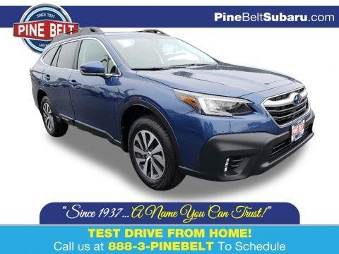 Abyss Blue Pearl 2020 Subaru Outback 2.5i Premium