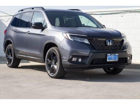 Modern Steel Metallic 2019 Honda Passport Elite AWD